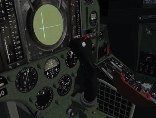 Cockpit details