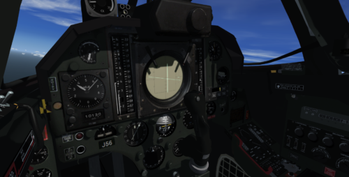 Virtual cockpit view